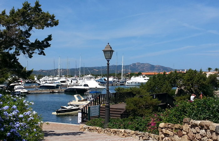 The resort of Porto Rotondo